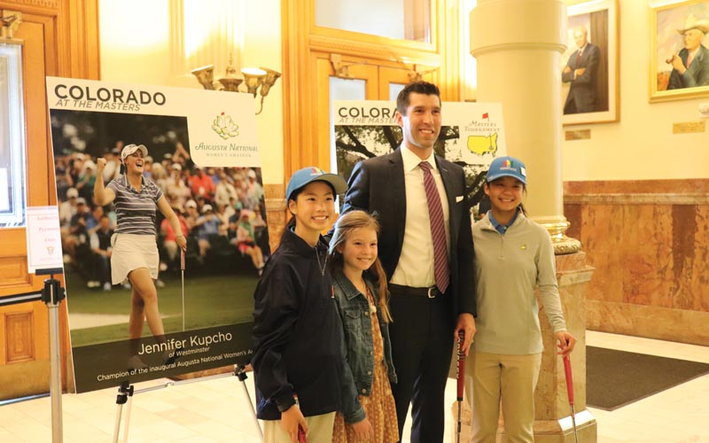 Colorado Golf Coalition's Annual Golf Day at the State Capitol