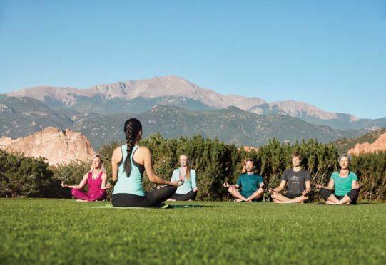 Yoga at Garden of the Gods Resort