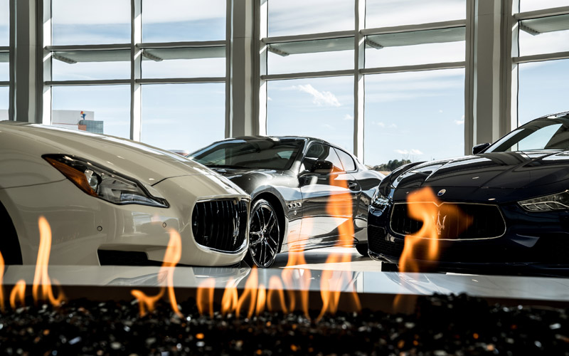 Supercars at Mike Ward Automotive