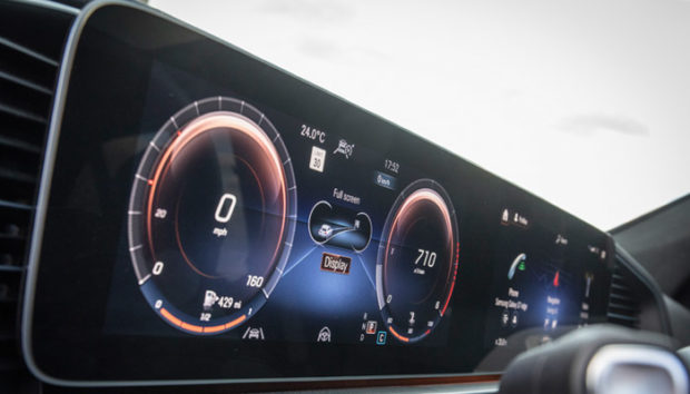 All-glass dashboard