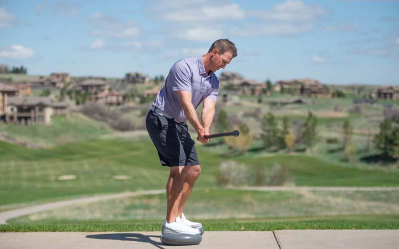 Spri Golf Swing drill, step 2