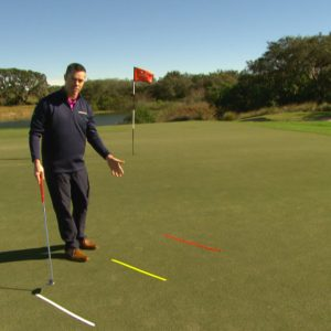 Are you going with the distance with your putting?