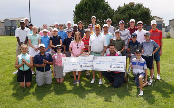 PGATSS presents check to First Tee of Denver
