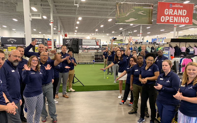 PGA TOUR Superstore Westminster Grand Opening