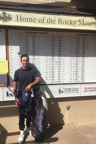 Justin Keiley, 2-time defending Rocky Mountain Open Champion