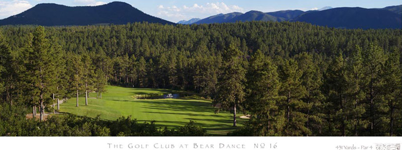 No. 16, The Golf Club at Bear Dance