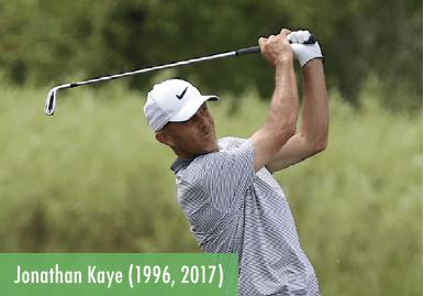 Jonathan Kaye - 1996 & 2017 champion