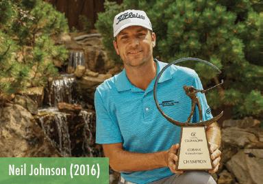 Neil Johnson - 2016 Champion