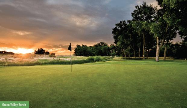 Green Valley Ranch Golf Club, host of the 2019 CoBank Colorado Open