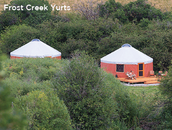 Frost Creek-owned cabins