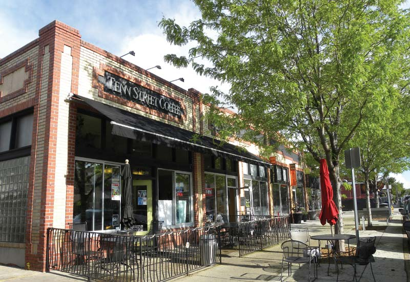Tennyson Streets shops near the 5390' community