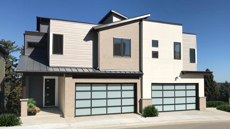A sleek, modern home in Denver's 5390' Community.