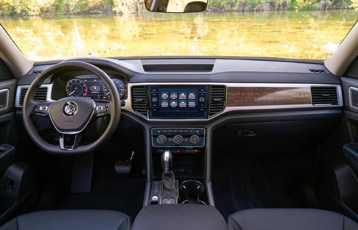 2019 VW Atlas Interior and dashboard