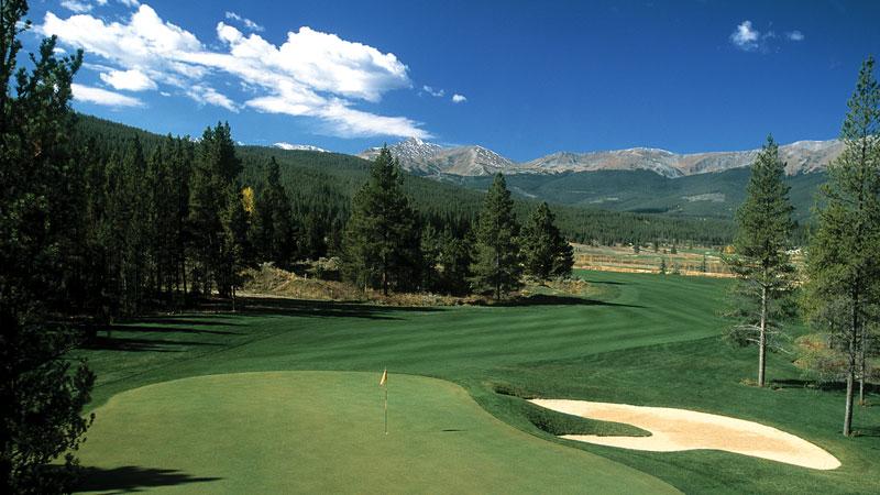 Breckenridge Golf Course in Breckenridge, Colorado. a short distance from Beaver Run Resort.