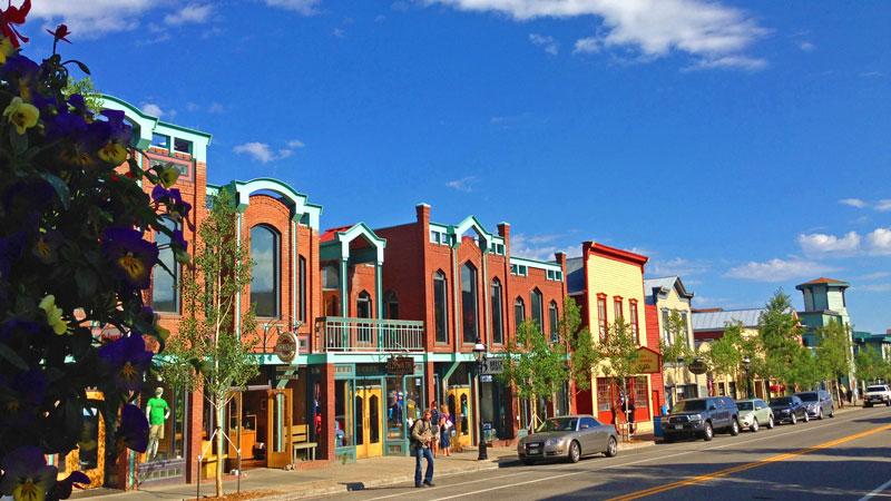Downtown Breckenridge, Colorado.