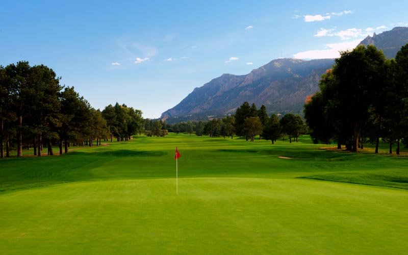 The East Course at the Broadmoor Golf Club