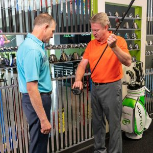 How a club fitting works.
