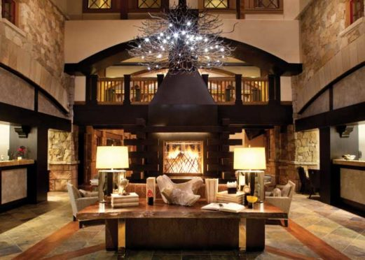 Grand Room at The Sebastian in Vail.