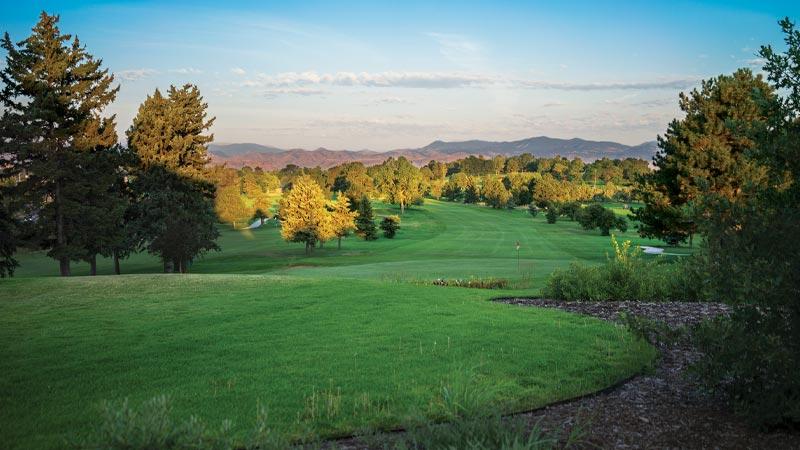 Willis case golf course in north Denver.