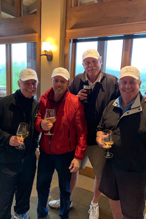 members enjoying social events at The Club at Cordillera.