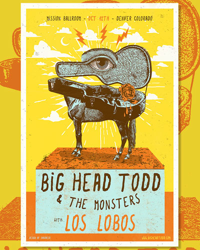 Big Head Todd and the Monsters are back in town October 12 with Los Lobos at Denver's newest venue, the Mission Ballroom.