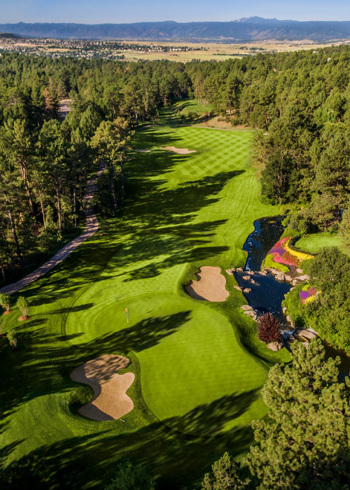 Castle Pines Golf Club, No. 12