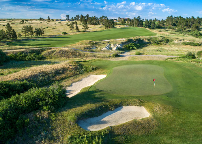Colorado Golf Club, Hole No. 3