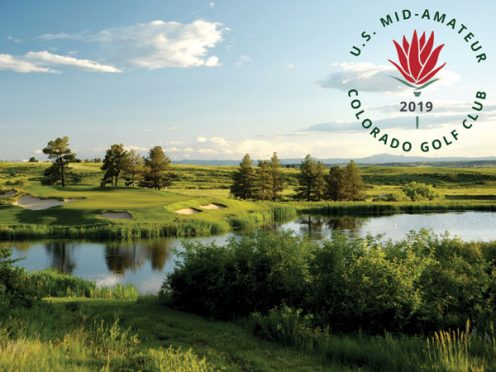 Colorado Golf Club, host of the 2019 Mid-Amateur Championship