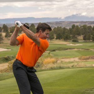 Add more shoulder turn for more power in your game