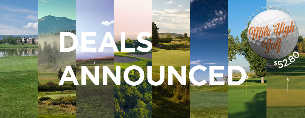 2019 Mile High Golf at $52.80 - Deals announced