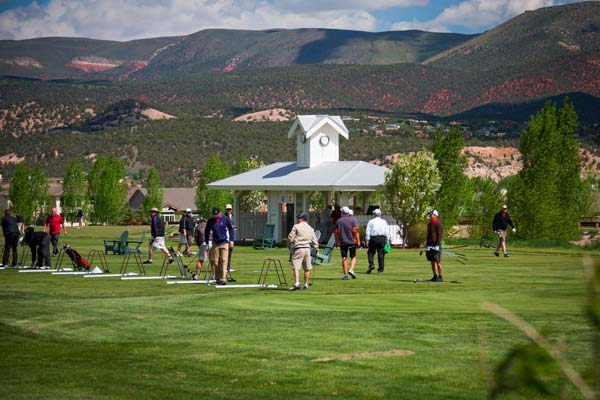 Practice facility at Eagle Ranch Golf Club