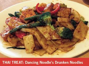 Dancing Noodles Drunken Noodles