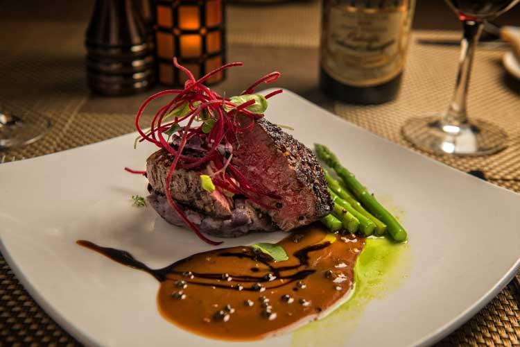 Steak Dinner at Beaver Run Resort