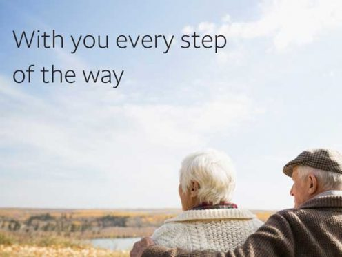 With you every step of the way.
