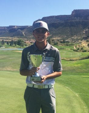 University of Wyoming sophomore Tyler Severin of Johnstown took low amateur honors in Rocky Mountain Open