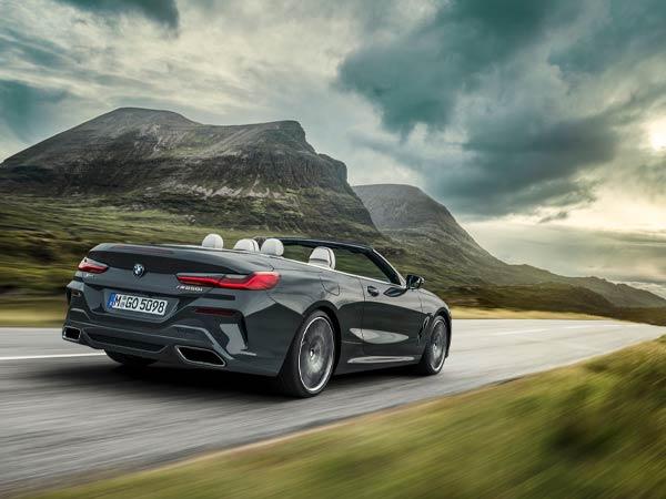 2019 BMW M850i Rear