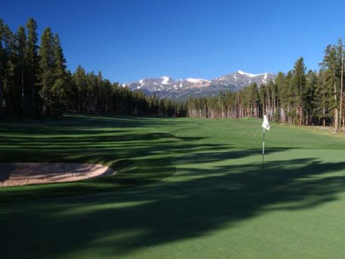 Breckenridge Golf Course - Bear Course , Hole #5