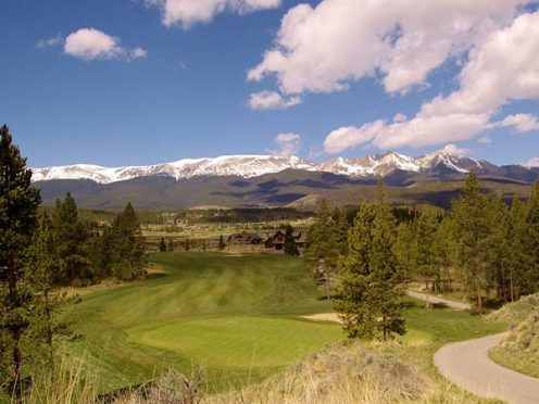 27-hole Breckenridge Golf Course