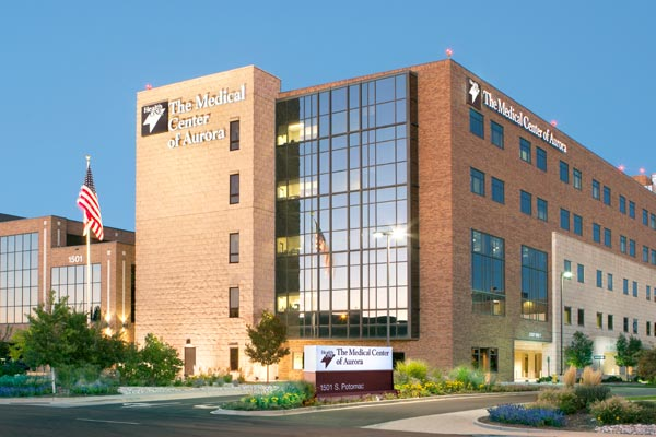 The Medical Center of Aurora - home to one of the most advanced heart programs in Colorado.