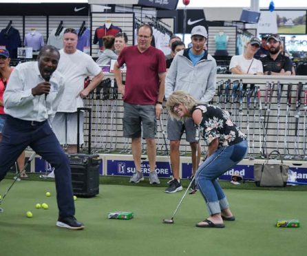Secrets of Short Game Clinic at PGA TOUR Superstore