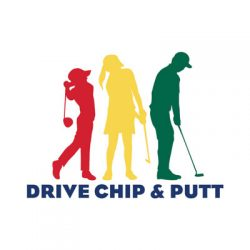 Drive, Chip and Putt logo