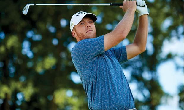 Callaway Golf shirt worn by a golfer