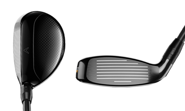 Top and face of the new Callaway Super Hybrid