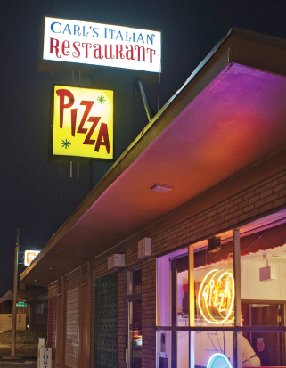 A North Denver institution for more than 65 years, Carl's Pizza dishes up classic pies.