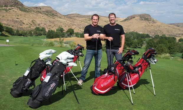 ClubHub founder Ben Bouillion (right) and partner Steve Irwin.
