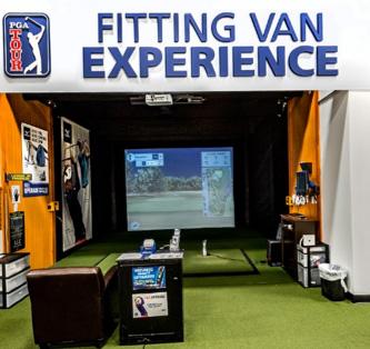Fitting Van at PGA TOUR Superstore