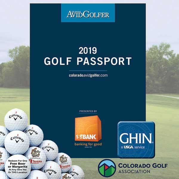2019 Golf Passport Plus Deluxe from Colorado AvidGolfer