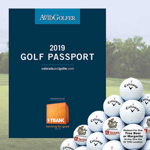 2019 Golf Passport with Callaway Chrome Soft golf balls