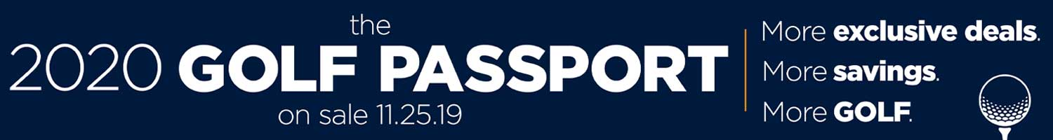 Golf Passport 2020 - Coming soon!