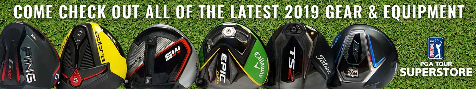 PGA TOUR Superstore has the newest gear!